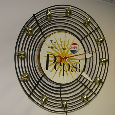 Pepsi-Cola Wall Clock
