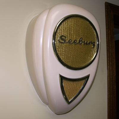 Seeburg Teardrop Jukebox Wall Speaker