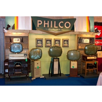 Vintage Philco Radio & TV Store Display -