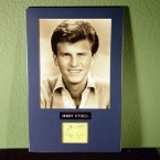 Bobby Rydell Vintage Autograph and Photo - Matted