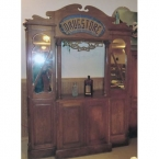 Antique Drug Store Apothecary Dispensary Counter