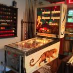 Gottlieb Jungle Queen Pinball Machine