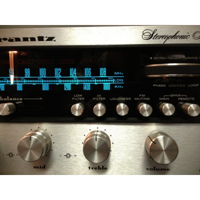 Marantz 2275 Vintage Stereo Receiver - Classic Silver Face Era Receiver From 1974