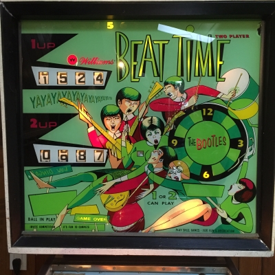 Beat Time Pinball Machine - BTPIN